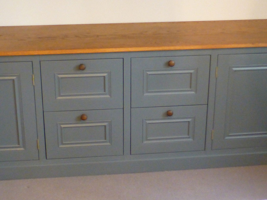 bespoke home study cabinet