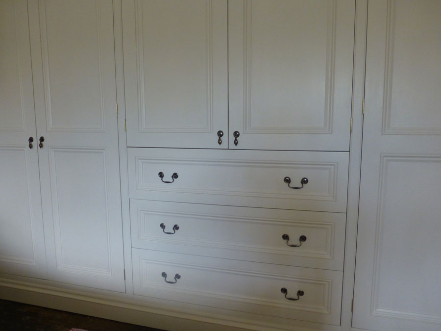 bespoke tulipwood doors and drawers
