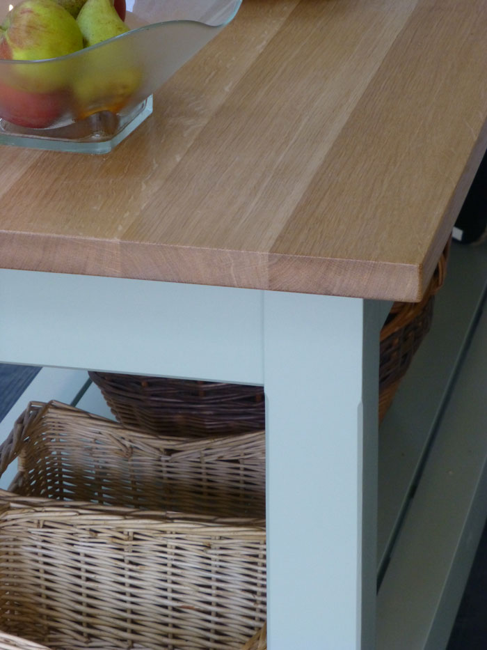 handmade kitchen island table