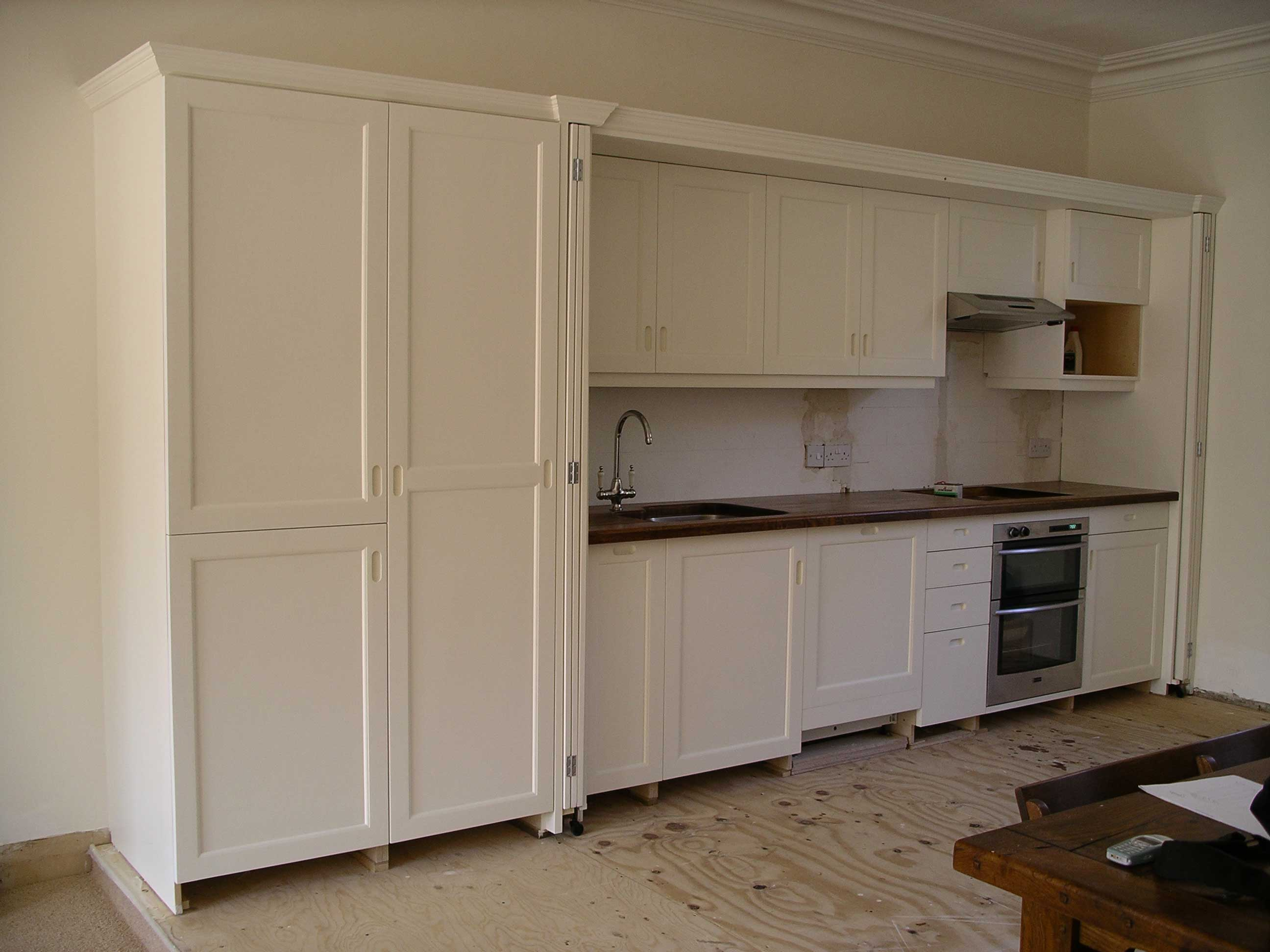 hide-away kitchen custom made