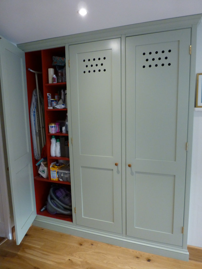 Farrow and Ball Vert De Terre kitchen pantry