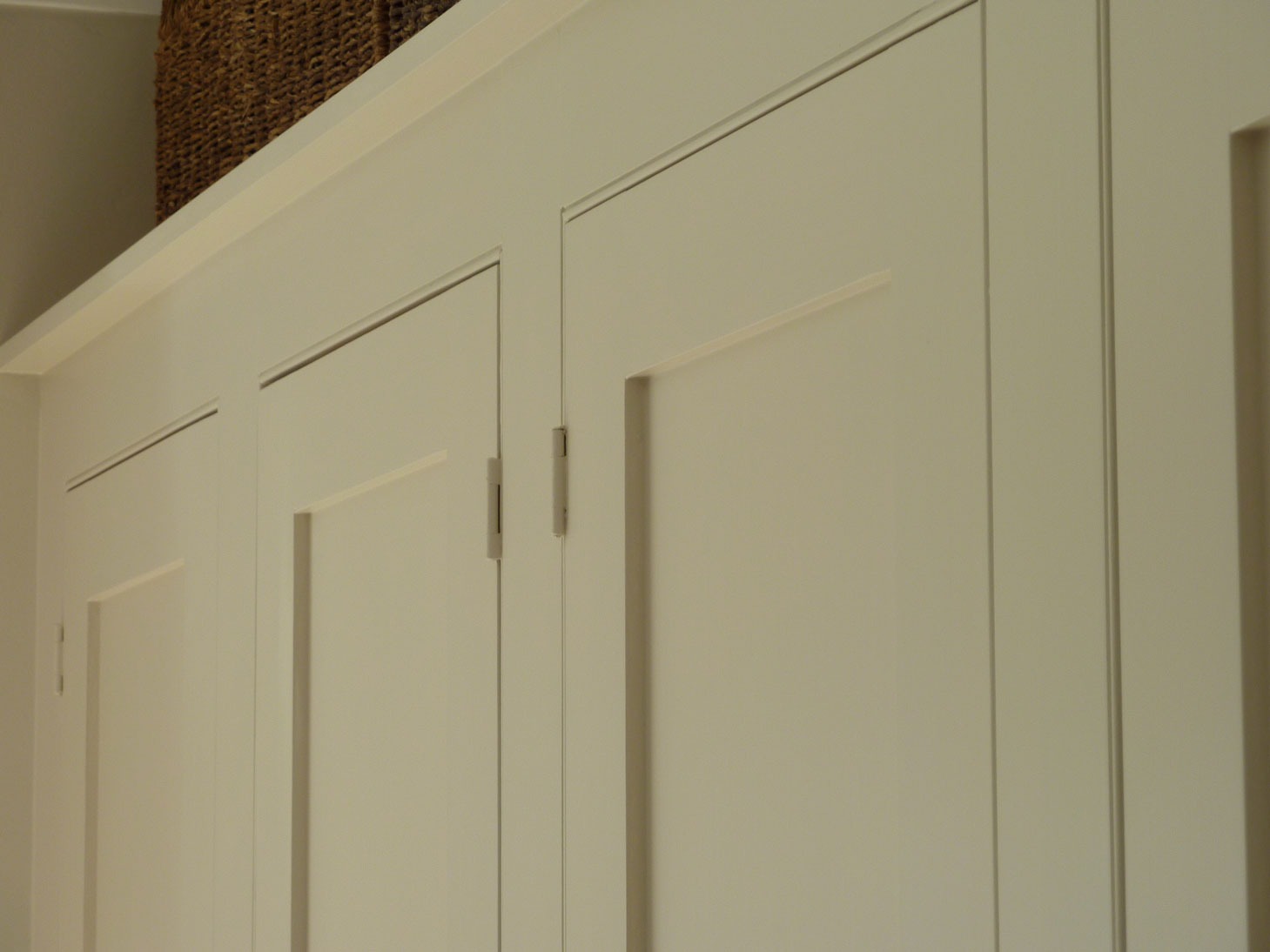 paneled doors set in a beaded face frame custom made bedroom furniture